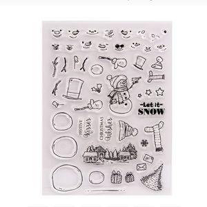 $8 bundle item💙 Winter/ snowman stamps